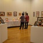 「さくらの会」展示風景